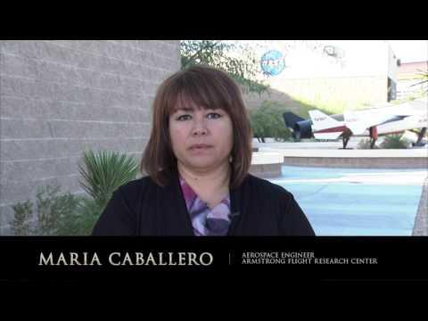 NASA Modern Figures - Maria Caballero