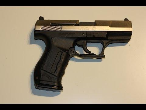 Walther P99 9mm P.A.K. Schreckschusswaffe Entspanndrücker, Schlagbolzen und Hahn auswechseln