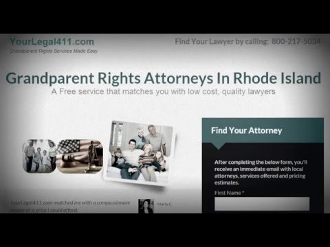 Rhode Island Grandparent Rights - Find out your rights!  1-800-217-5034