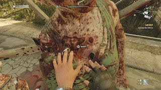 Groping A Zombie....(Dying Light)