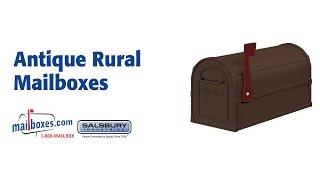 Mailboxes.com Antique Rural Mailboxes