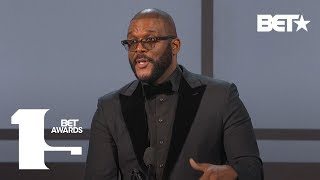 Tyler Perry Gives Powerful Speech Of Motivation As He Accepts Ultimate Icon Award | BET Awards 2019