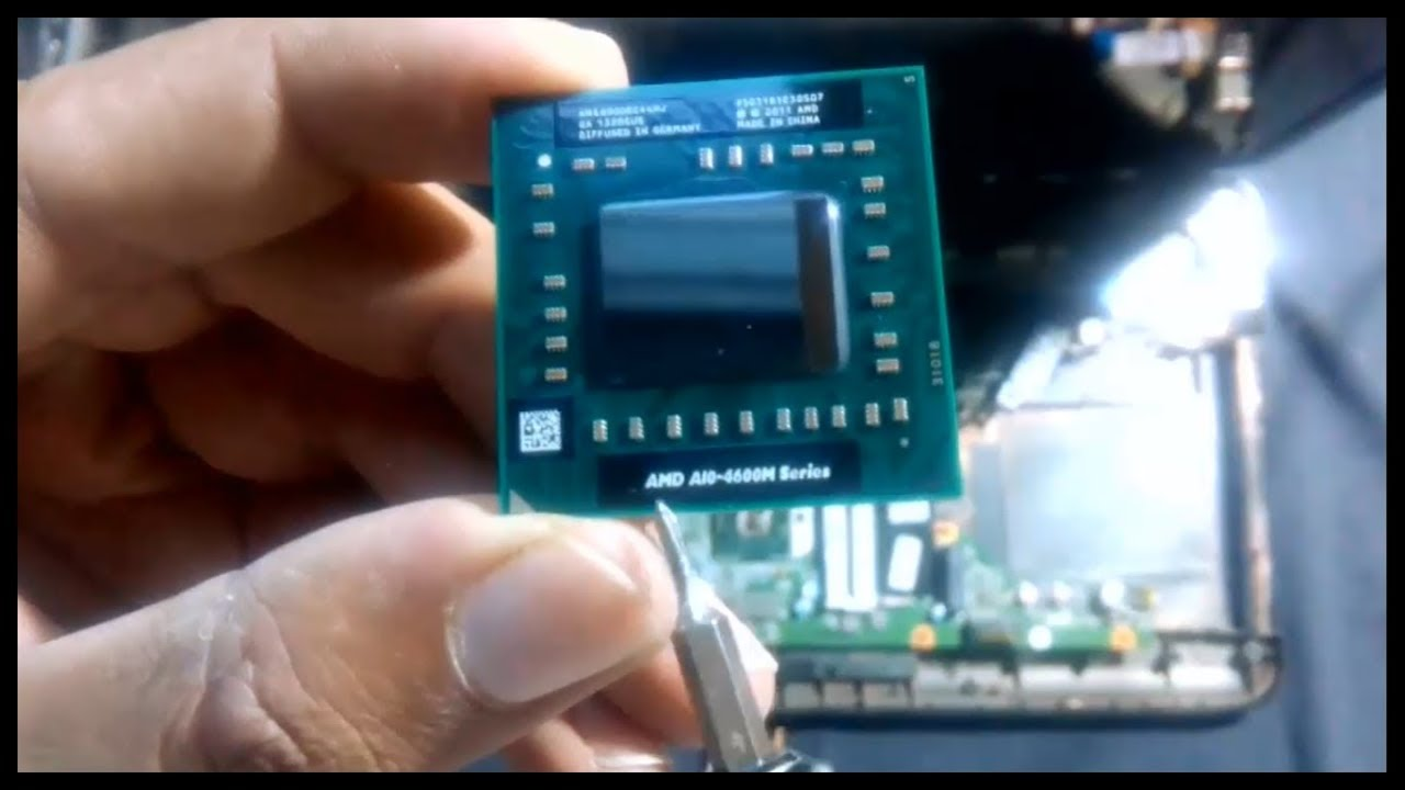 Processor Installation In Hp Pavilion G6 2301ax Laptop 2 Youtube