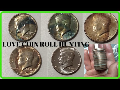 Finding Silver Halves, Uncirculated Coins, And Proofs, Coin Roll Hunting