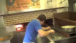 Inside a Bagel Bakery - Marc