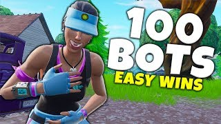 So Many BOTS! Best Time To Play Fortnite