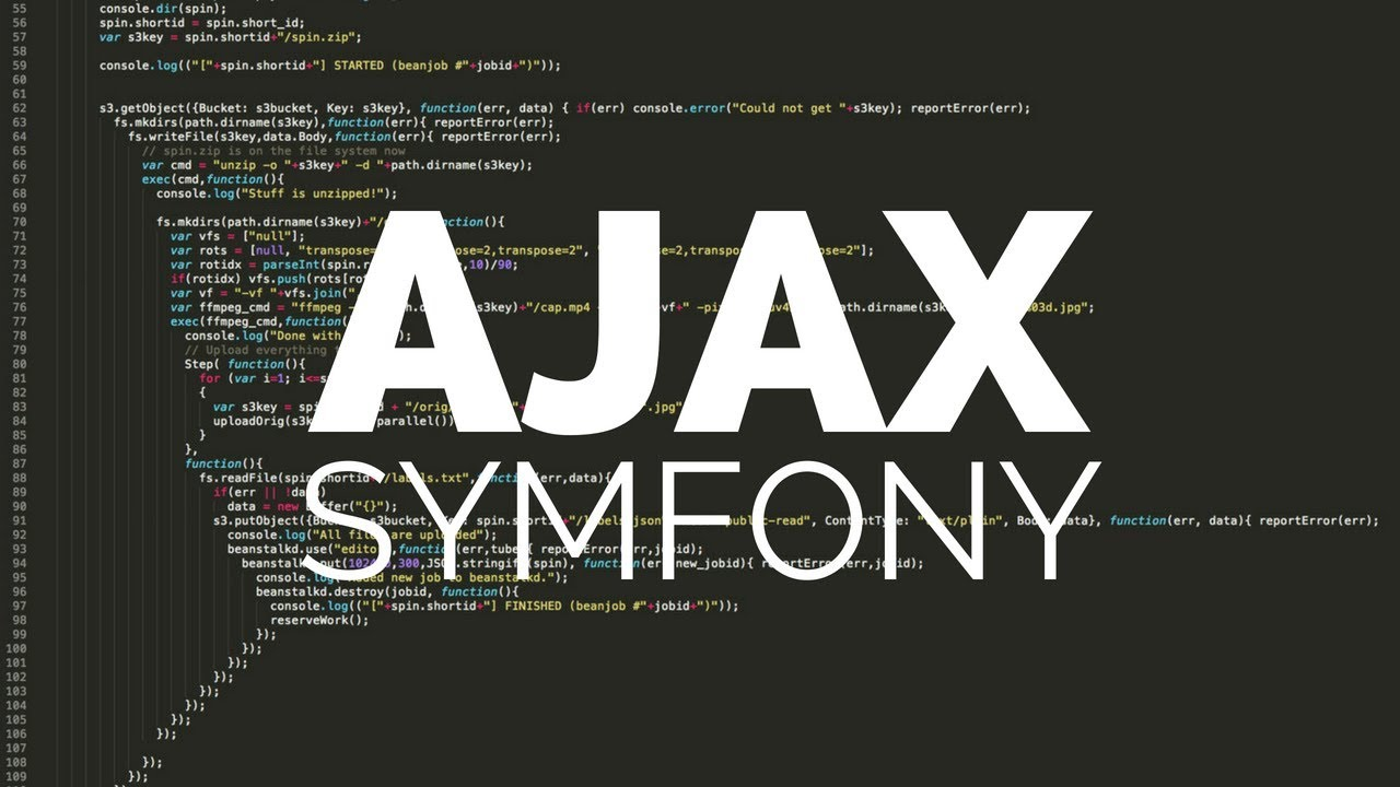 Use a combination of Symfony 4 with Ajax (XMLHttpRequest)