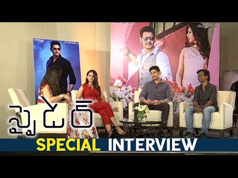 Dussehra Special Interview With Spyder Team | Latest Telugu