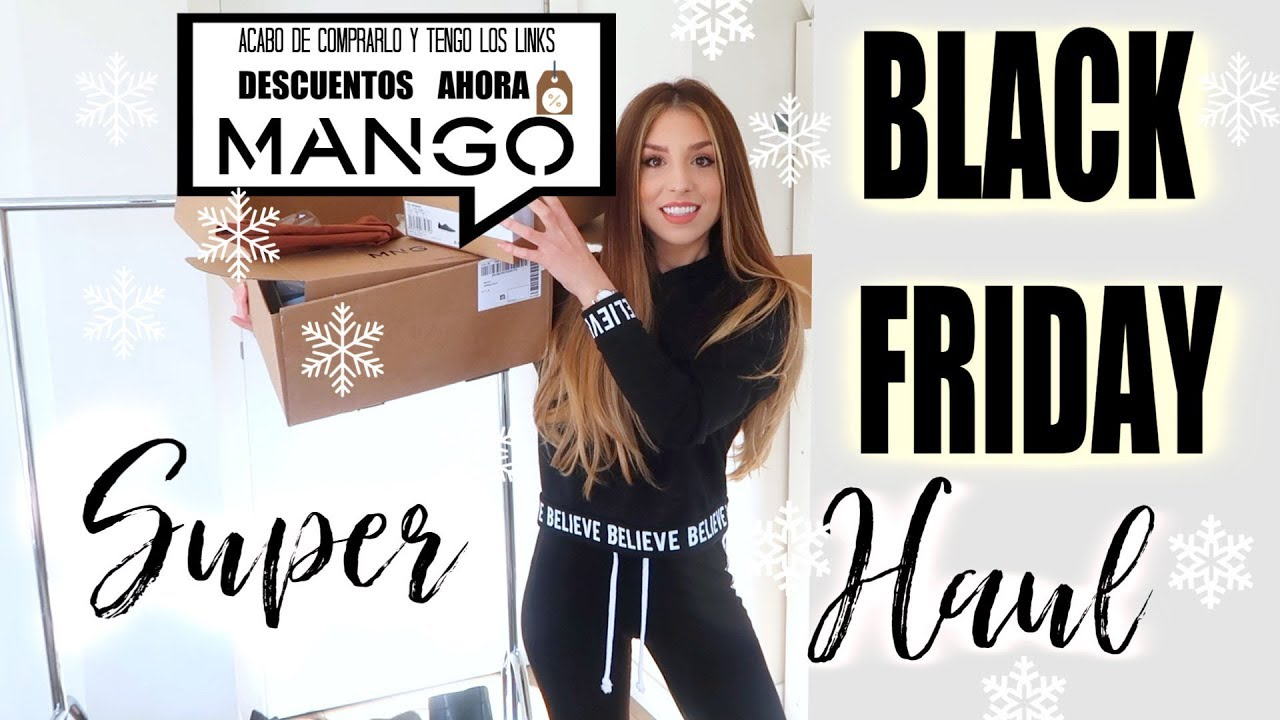 SUPER HAUL BLACK FRIDAY!! Zara, Mango Outlet, Stradivarius
