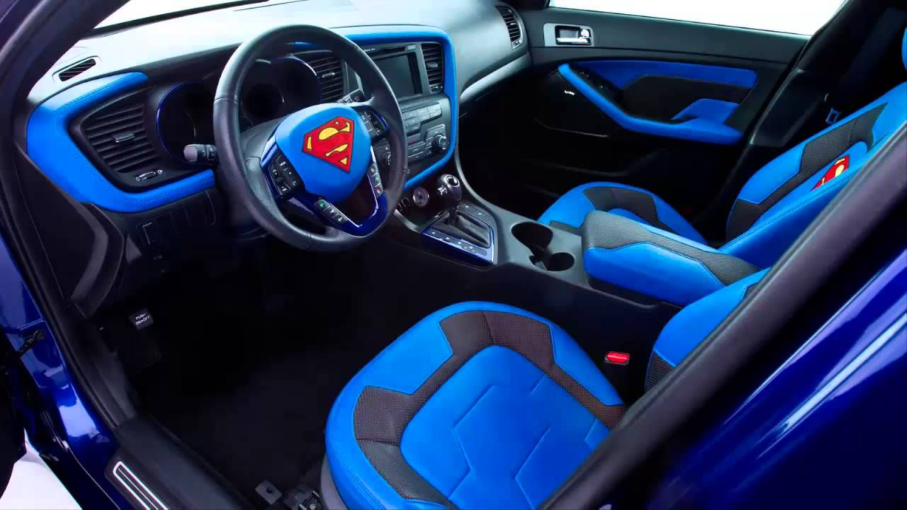 car interior 2013 kia optima hybrid superman youtube