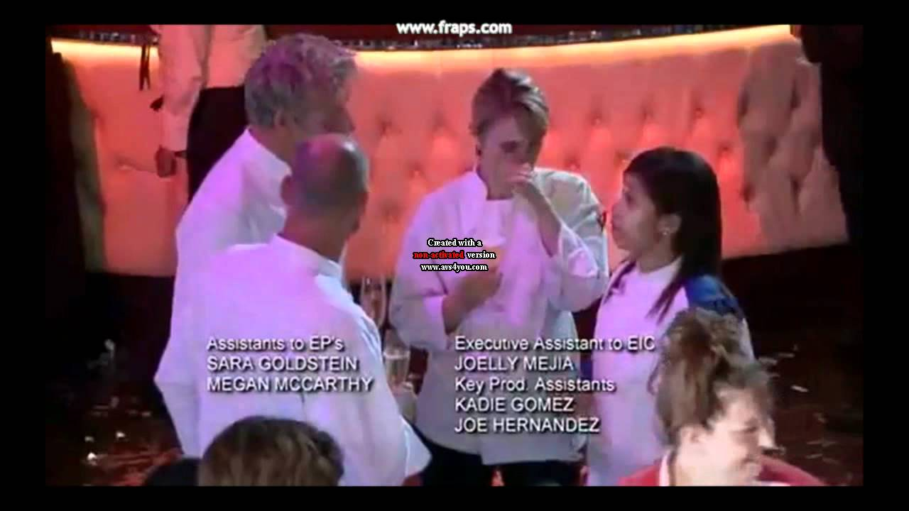 elise crying moments hells kitchen season 9 youtube - Hells Kitchen Season 9