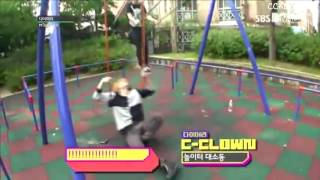 Video Siwoo falling off the swing + Evil Kangjun xD download MP3, 3GP, MP4, WEBM, AVI, FLV Desember 2017