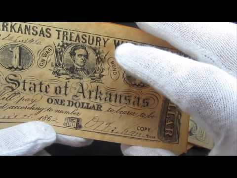 Must Watch: Fake U.S. Civil War Notes Currency Money & Coin Copies