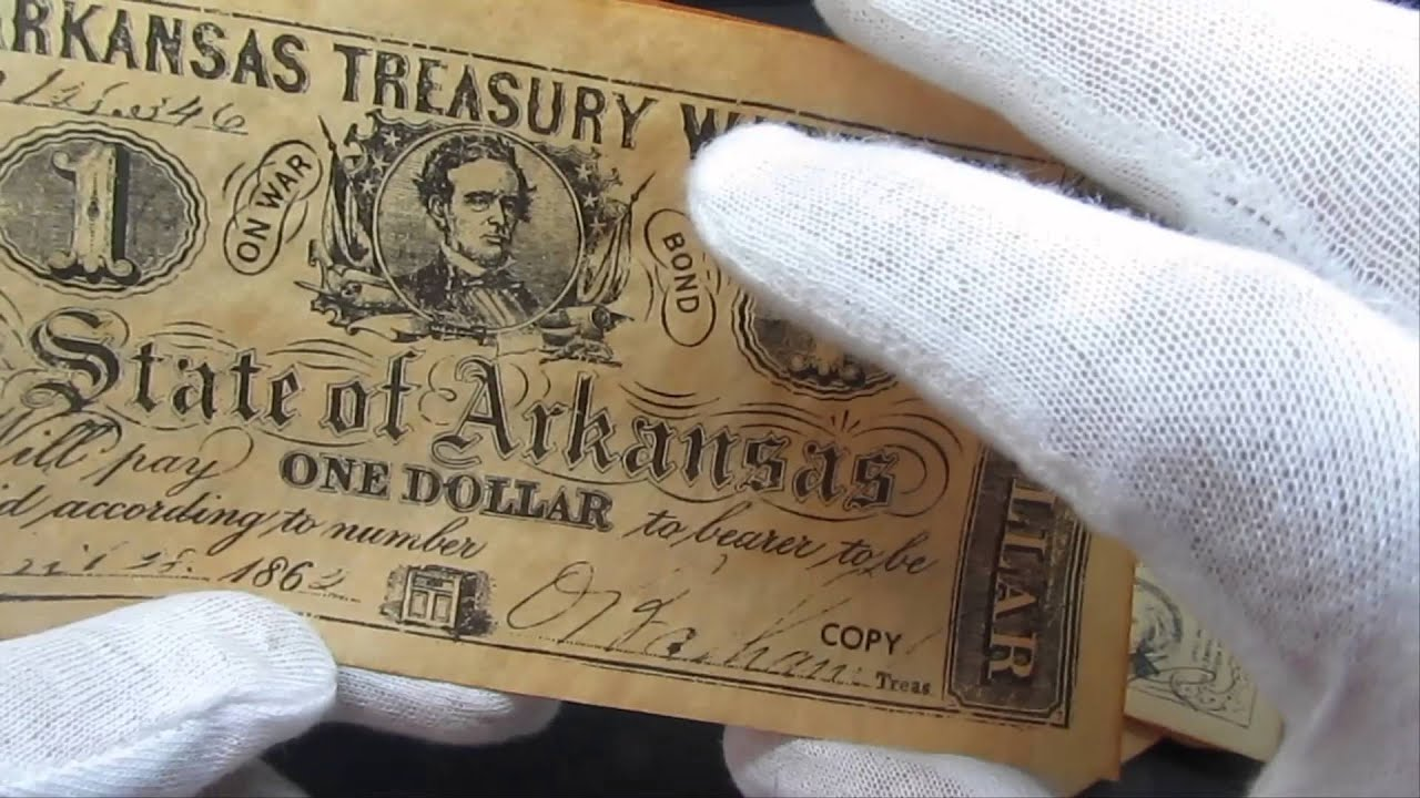 Must Watch: Fake U S  Civil War Notes Currency Money & Coin Copies