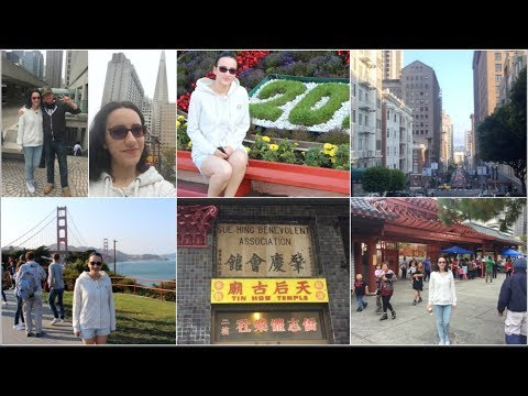 USA Vlog - Treasure Island,Golden Gate Bridge, Free San Francisco City Tour,ChinaTown - Ep 91