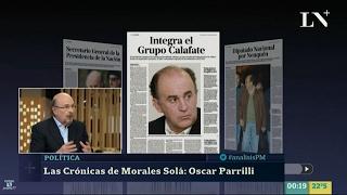 """J.Morales Solá sobre """"O.Parrilli"""", en """"PM Análisis"""" de J.Miceli - 08/02/17"""