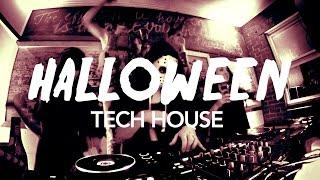Halloween Pt. 3 // Live Tech House DJ mix // Boiler Room Style 2015