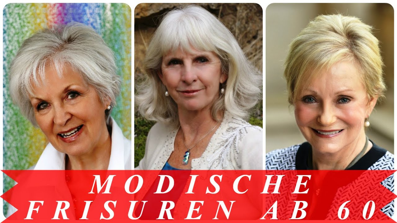 Modische Frisuren Ab 60 Youtube - Frisuren Ab 50 Jahren