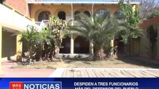 DESPIDEN A TRES FUNCIONARIOS MAS DEL DEFENSOR DEL PUEBLO