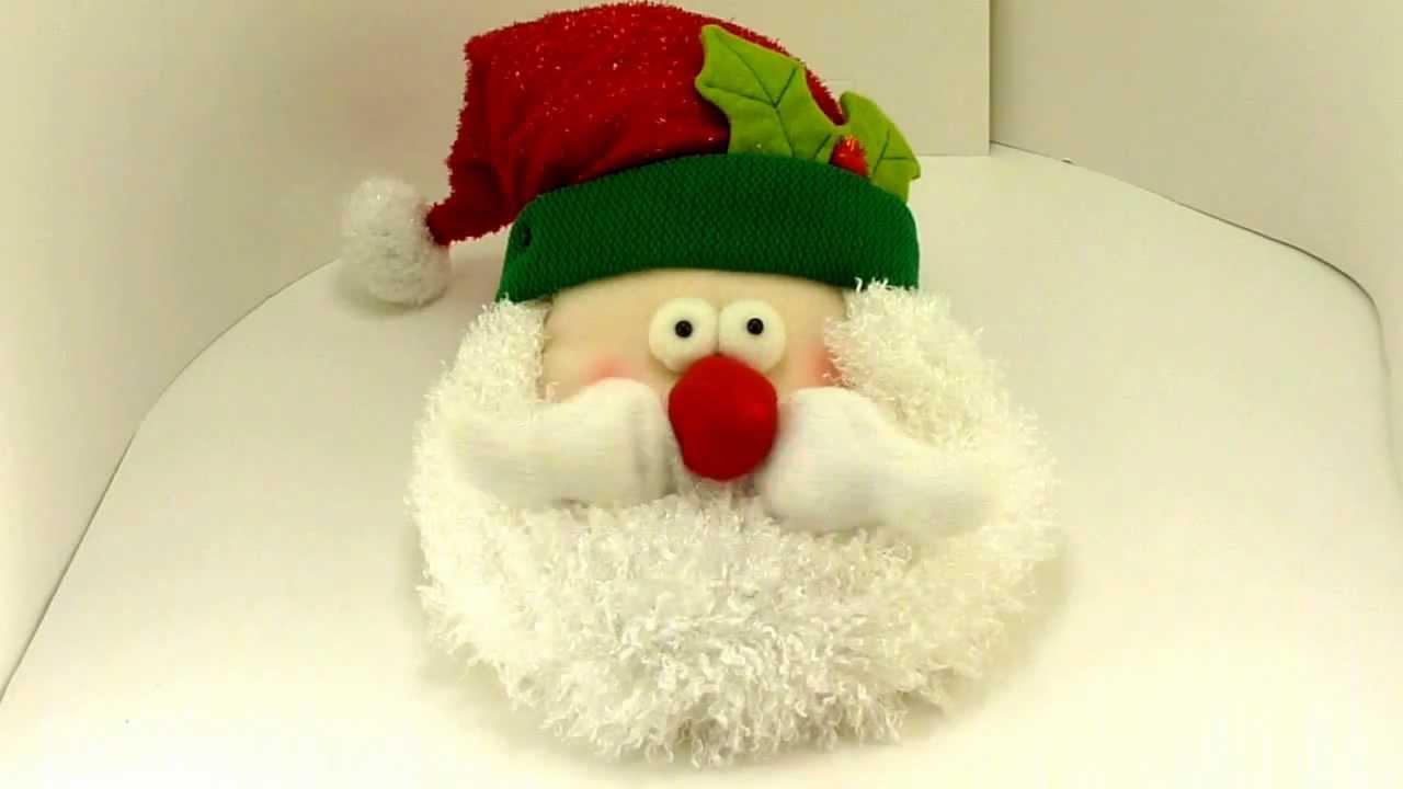 Animated Santa Face - YouTube