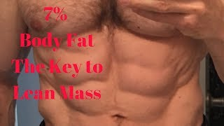 Best Workout and Diet Tips for Lean Mass, 3 Important Things