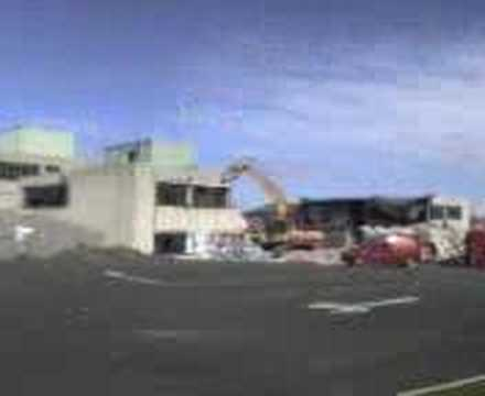Blantyre High New Wing Getting Demolished