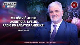 INTERVJU: Milan Paroški - Milošević je bio agent CIA, sve je radio po zadatku Amerike! (22.3.2019)