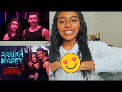 SIMMBA: Aankh Marey | Ranveer Singh, Sara Ali Khan | LIT! - REACTION