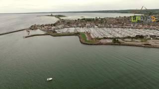 Saint-Vaast-la-Hougue,Manche, vu du drone, teaser LFVDD