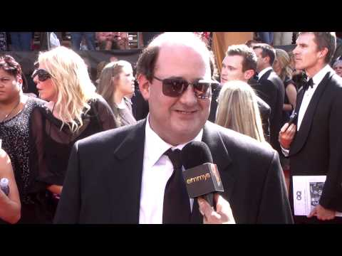 Brian Baumgartner, The Office: Red Carpet: Primetime Emmys