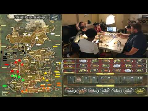 """Game of Thrones:The Board Game"" Play Through (Edited)"