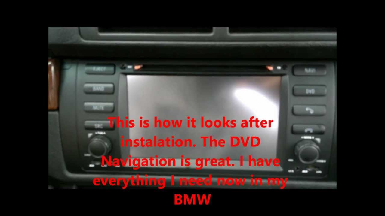 Unboxing And Installing Bmw E39 Dvd Navigation System On