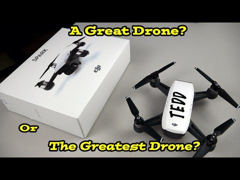 DJI Spark Review!  A Great Drone?  Or The Greatest Drone?