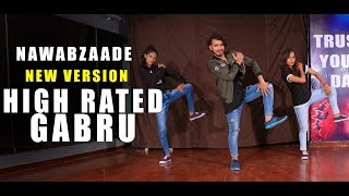 Nawabzade High Rated Gabru Dance Video | Vicky Patel Choreography | Easy Hip Hop for  beginner
