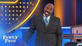 Guess who's panty dropping HOT!!?? | Family Feud