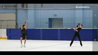 Танцы на льду Контрольные прокаты юниоров