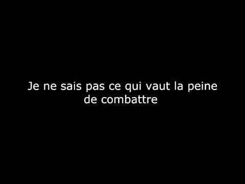 Linkin Park Breaking The Habit (Briser les habitudes) Paroles en français