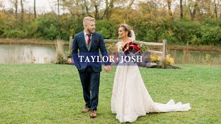 This Groom Will Make You Cry | Taylor + Josh Wedding Film