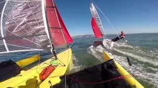 Woah Davo! Weta Trimaran Sailing San Francisco