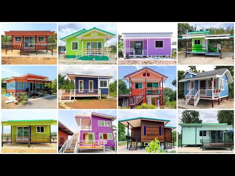 40 แบบบ้านน็อคดาวน์ สวยๆ ราคาถูก ไว้ให้ชมกันเพลินๆ