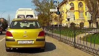 Севастополь , проезд перекрестка