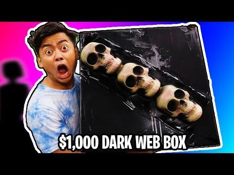 $1000 Dark Web Mystery Box vs Me.