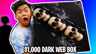 $1000 Dark Web Mystery Box vs Me.