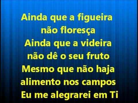 Ainda Que a Figueira - Fernandinho (playback legendado)