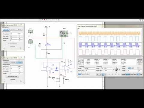 For Block Diagram Ask Modulation Amp Demodulation Using Multisim Youtube