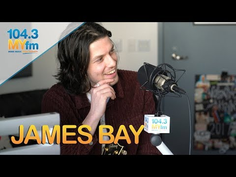 Valentine In The Morning - James Bay Talks 'Peer Pressure' + Sings Lullaby & More