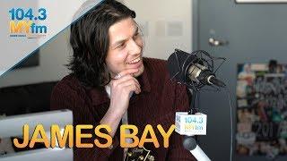 Download Jame Bay Talks 'Peer Pressure' + Sings Lullaby & More Mp3