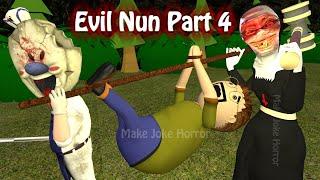 Evil Nun Horror Story Part 4 | Apk Android Games Story | Horror Movie In Hindi | Make Joke Horror