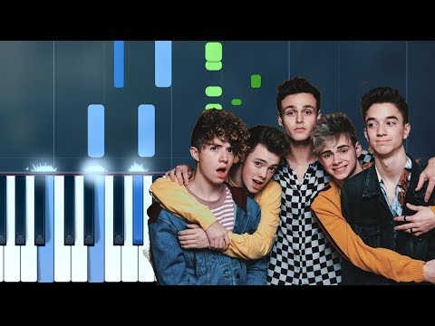 Why Don't We -  8 Letters  Piano Tutorial - Chords - How To Play - Cover