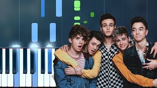 "Why Don't We - ""8 Letters"" Piano Tutorial - Chords - How To Play - Cover"